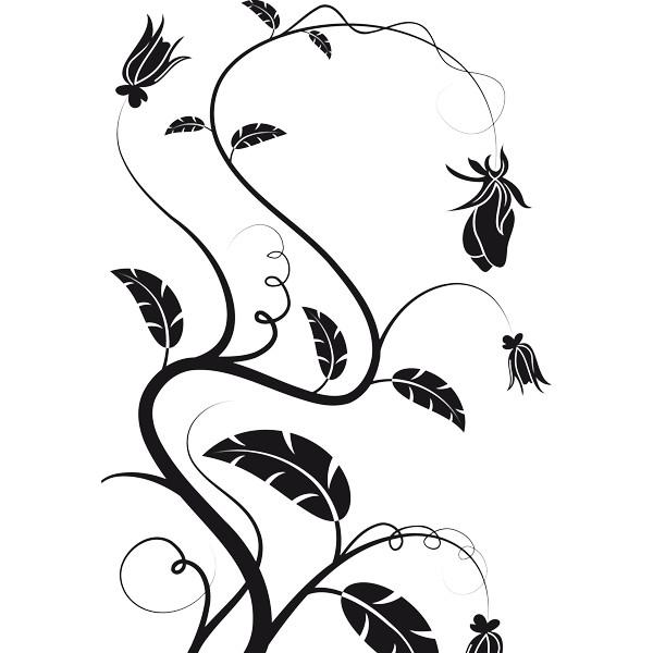 Dibujos De Enredaderas Con Flores