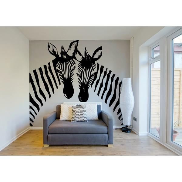 vinilo decorativo cebras