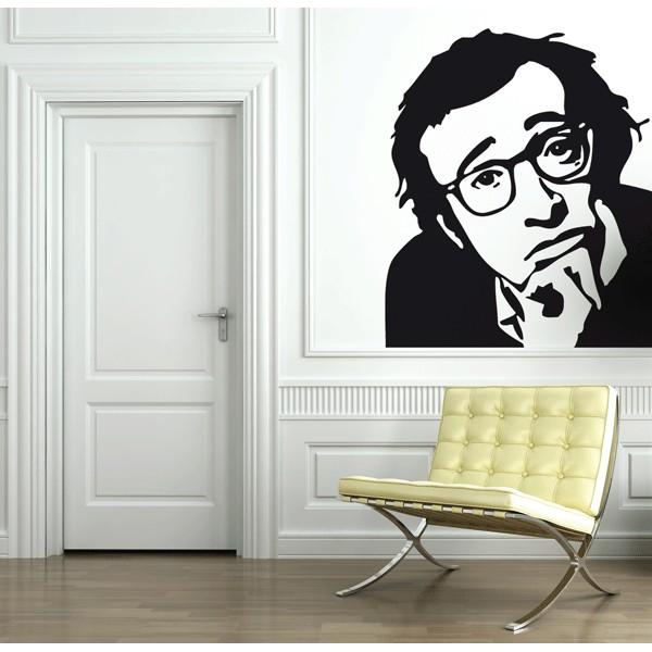 Vinilo decorativo Woody Allen