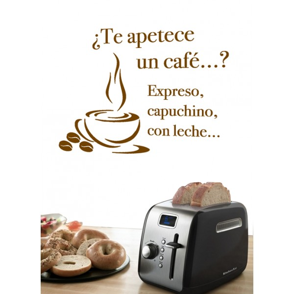 Te apetece un caf�