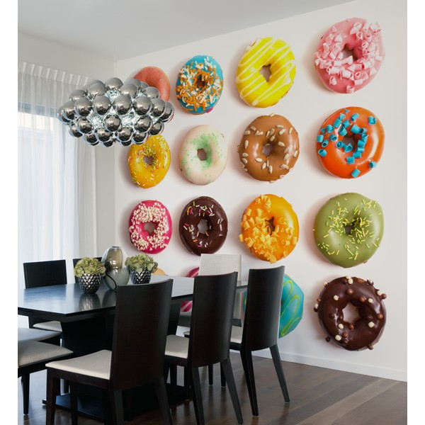 rosquillas de colores