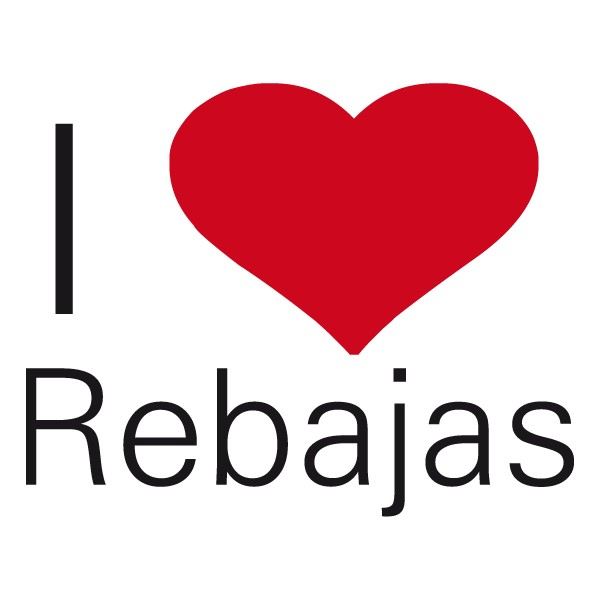 Escaparate i love rebajas