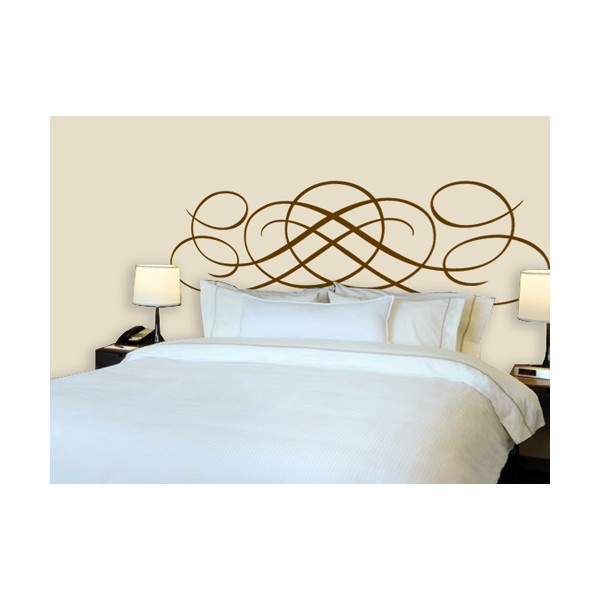 Vinilo decorativo cabecero cama lineas - Vinilos decorativos cabecero ...
