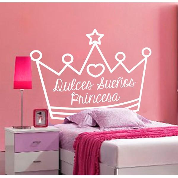 Cabecero cama princesa