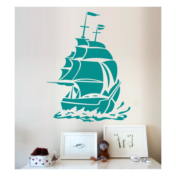 Vinilo Infantil Pirata Infantil Vinilo Barco Vinilo Barco Pirata Nv0wm8n