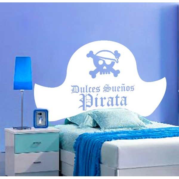 Cabecero cama pirata