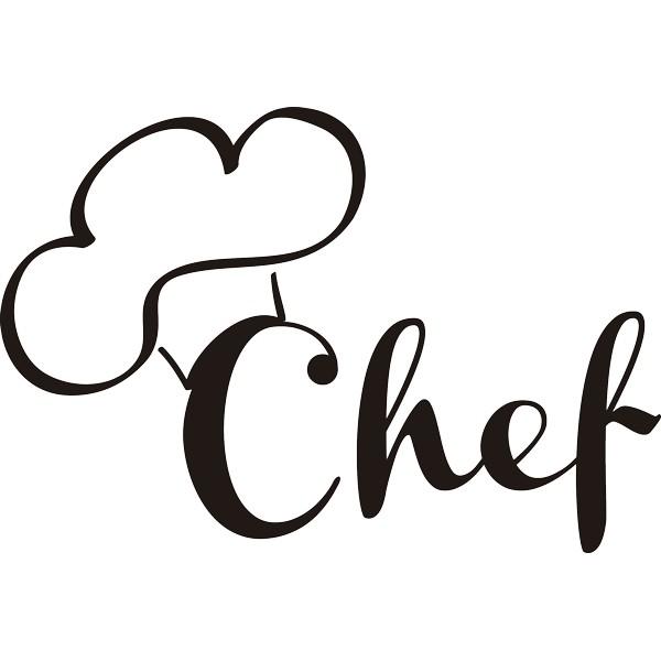 Vinilo Decorativo Chef Gorro