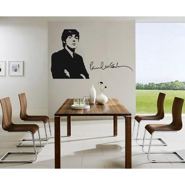 Vinilo decorativo Paul McCartney