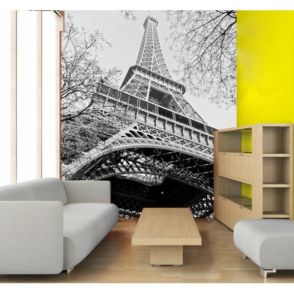 Torre Eiffel blanco y negro
