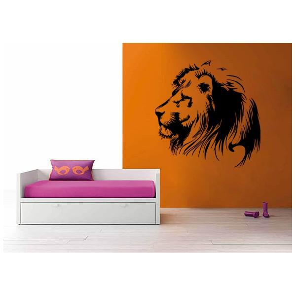 cabeza león