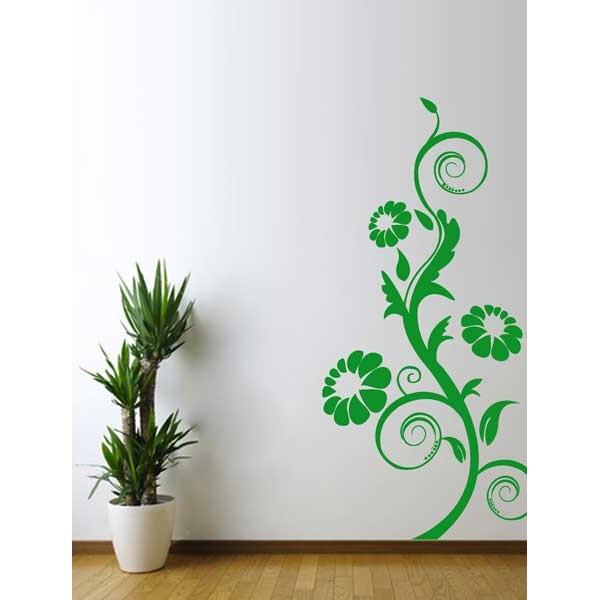 Floral espirales y margaritas