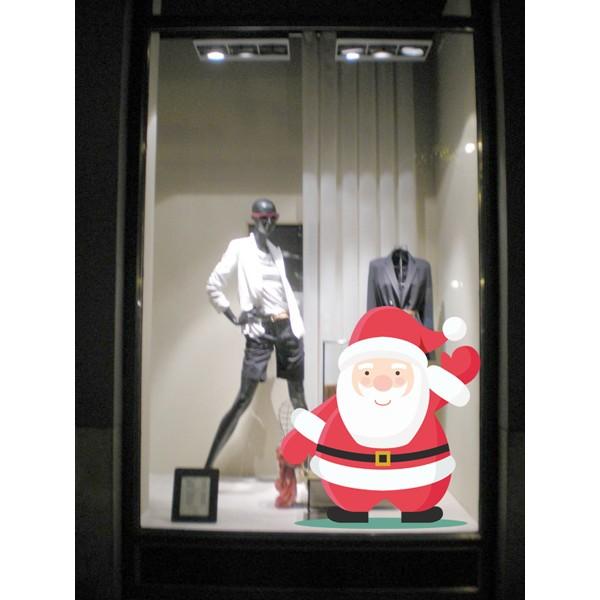 Papa Noel saludando