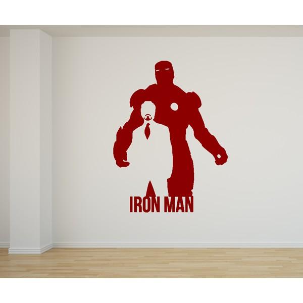 Vinilo decorativo Iron Man Los Vengadores