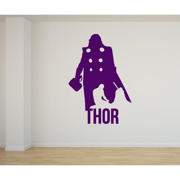 Vinilo decorativo Thor Los Vengadores