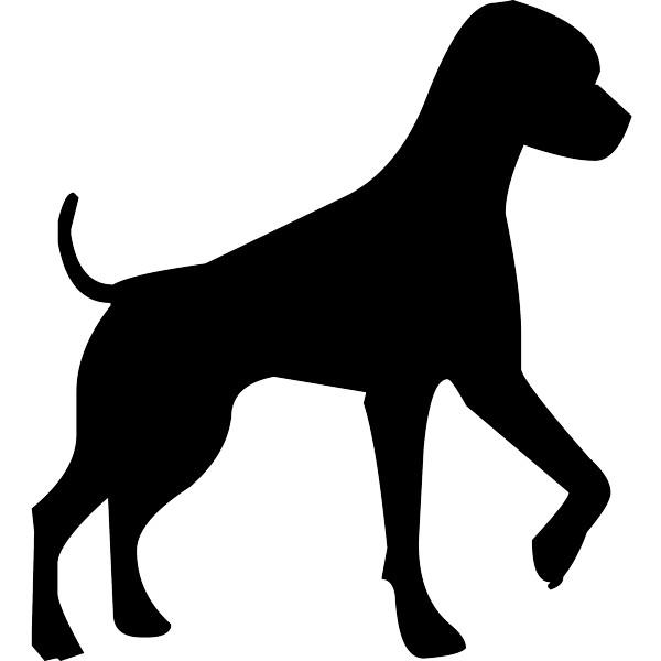Vinilo decorativo Perro de caza - Vinilos animales adhesivos pared