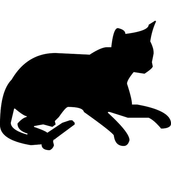 amor de silueta gato - photo #31