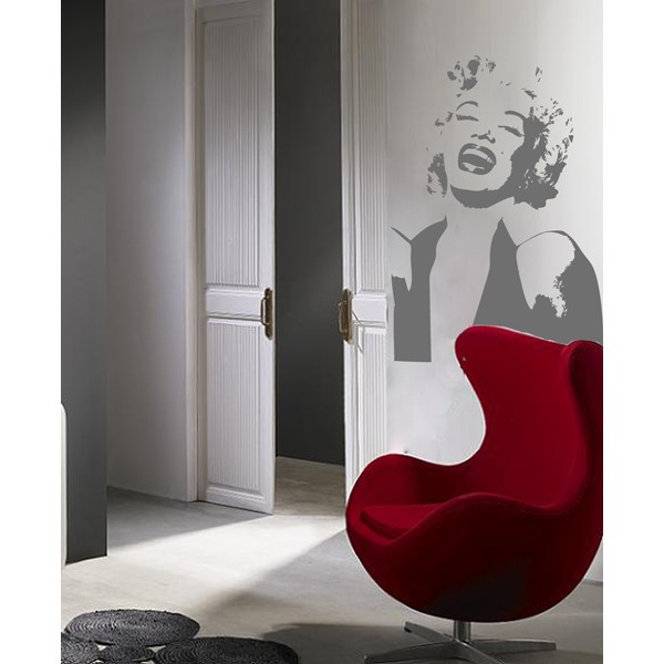 Vinilo decorativo marilyn monroe for Vinilos decorativos pared habitacion