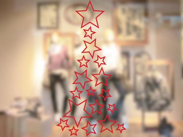 Árbol estrellas