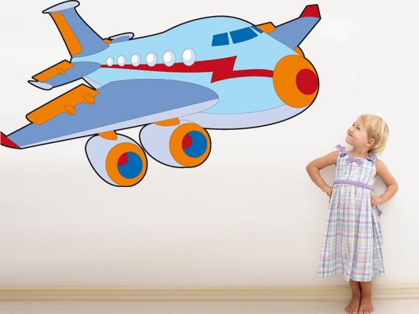 Avión animado