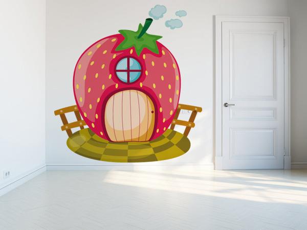 Hada fresa casita