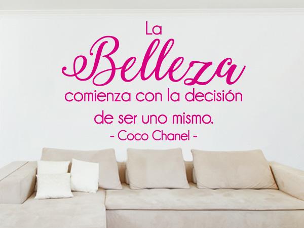 Coco Chanel Belleza