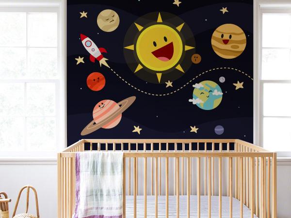 Cohete y planetas