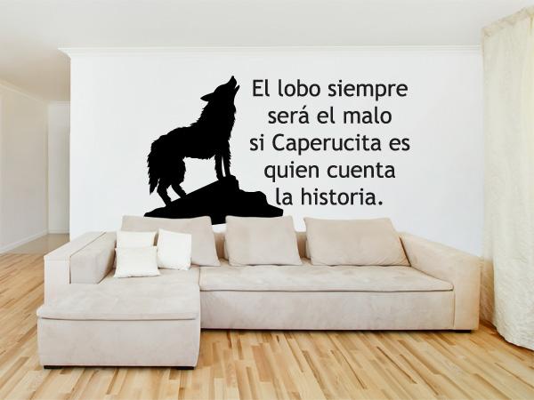 El lobo siempre será el malo...