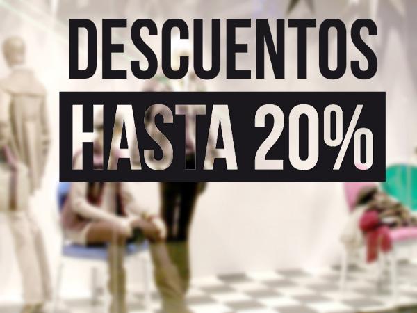 Descuentos hasta 20%