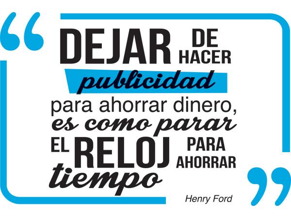 Vinilo Decorativo Frase Henry Ford
