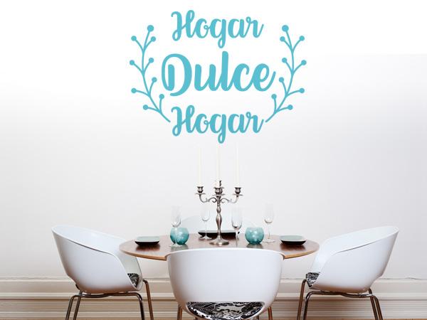 Vinilo decorativo hogar dulce hogar - Dulce hogar villalba ...