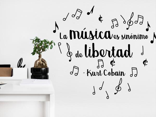 La música es sinónimo de libertad