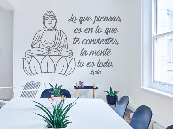 Imagen y frase Buda