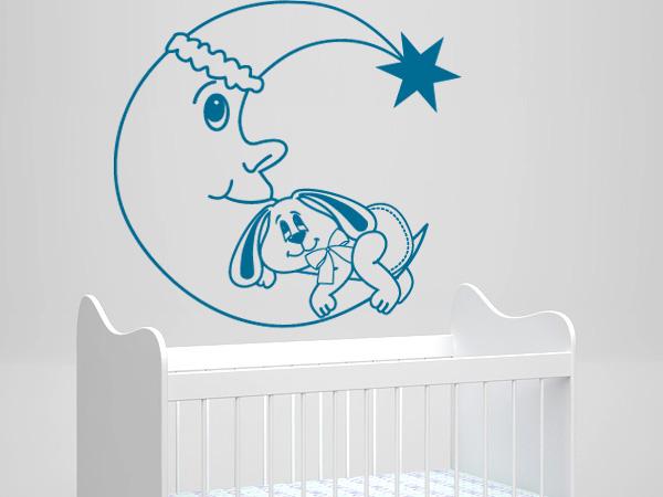 Luna y conejito