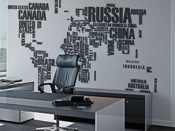 Mapa nombres paises