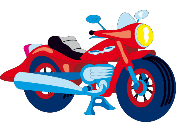 Vinilo infantil moto animada for Vinilos infantiles con nombre baratos
