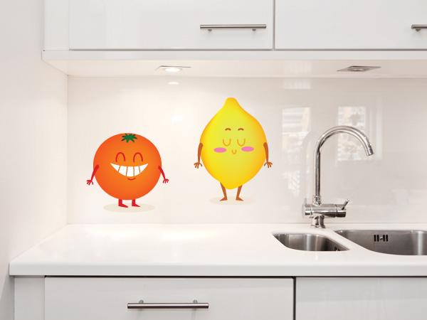 Limón y naranja