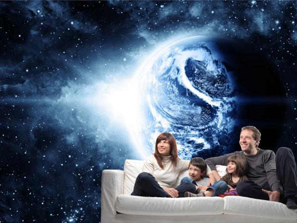 Planeta espacio