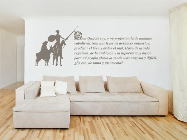 Don Quijote frase e imagen