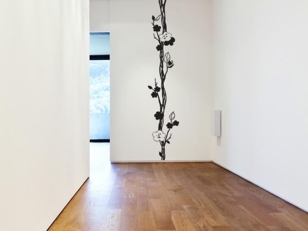 Rama con flores vertical