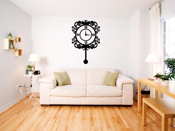 Vinilo decorativo reloj de pared - Reloj vinilo decorativo ...