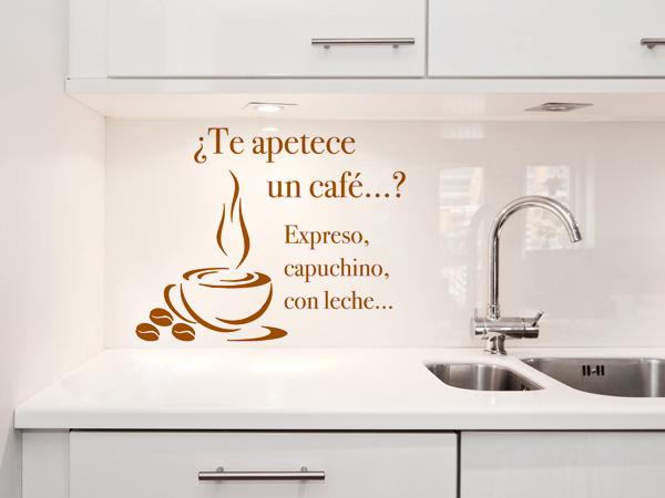 Te apetece un café